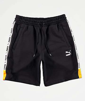 PUMA XTG Black Sweat Shorts