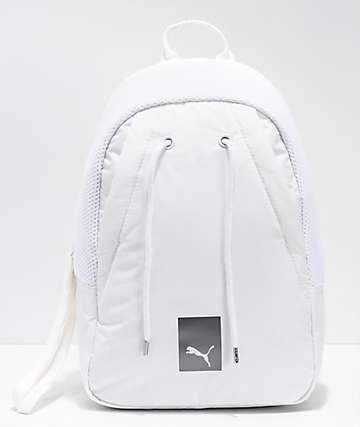 PUMA mochila pequeña blanca
