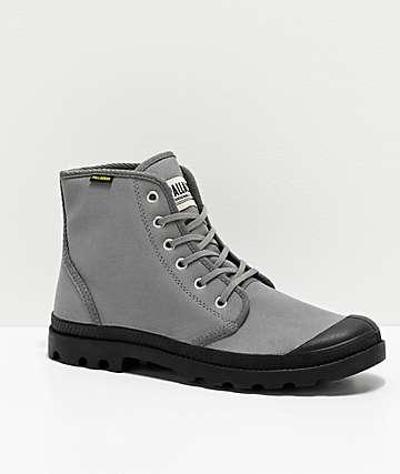 Palladium Pampa Hi Originale Titanium Boots