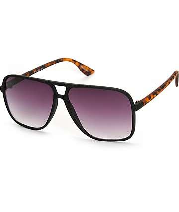 Panama gafas de sol de aviador cuadradas