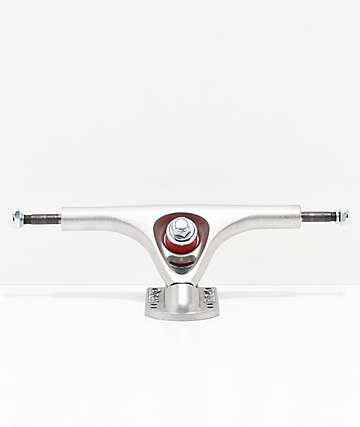 Paris 180mm 50° Raw Silver Longboard Trucks