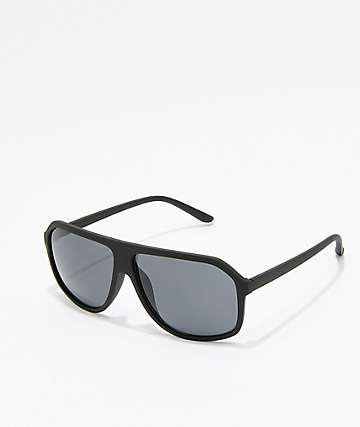 Parko Black Aviator Sunglasses