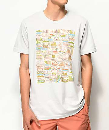 Parks Project All Parks Scribble Off White T-Shirt
