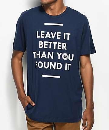 Parks Project Leave It Better Navy T-Shirt
