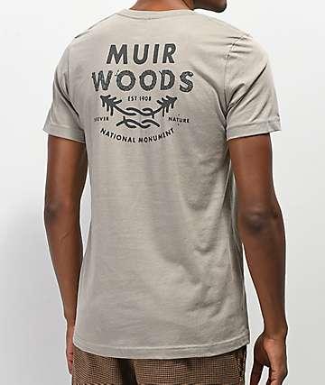 Parks Project Muir Woods camiseta gris
