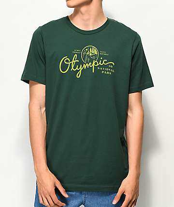 Parks Project Olympic 38 camiseta verde y amarilla