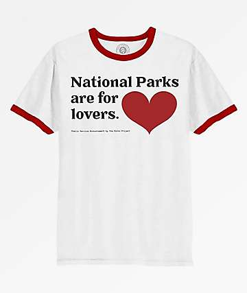 Parks Project Parks For Lovers White T-Shirt