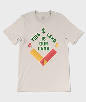 Parks Project This Land Natural White T-Shirt