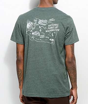 Parks Project WA National Park Green T-Shirt