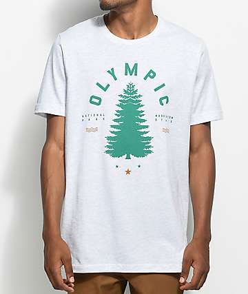 Parks Project WA Olympic Tree Oatmeal T-Shirt