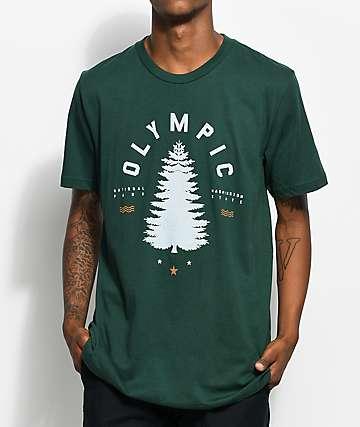 Parks Project WA Olympic Tree camiseta verde