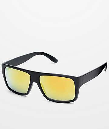 Parole gafas de sol en negro y oro
