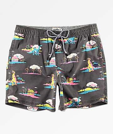 Party Pants Coachella Black Board Shorts