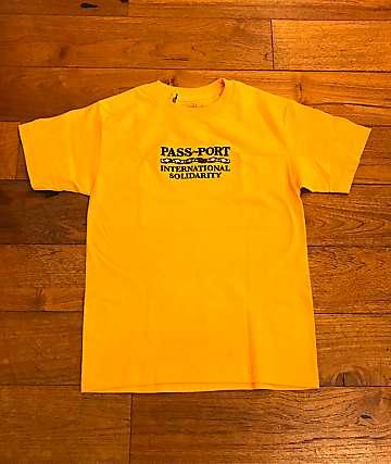 Passport Inter Solid Gold T-Shirt