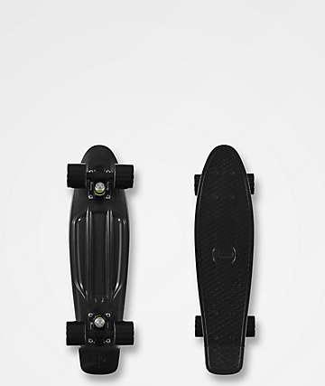 "Penny Blackout 22.5"" completo de skate cruiser"