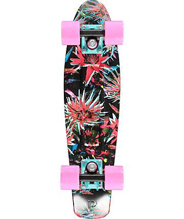 "Penny Bloom 22"" cruiser completo de skate"