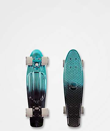"Penny Metallic Fade Blue & Black 22"" Cruiser Complete"