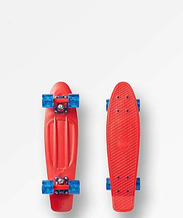 "Penny Red Comet 22"" Cruiser Complete"