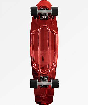 "Penny Red Metallic 27"" Cruiser Complete Skateboard"