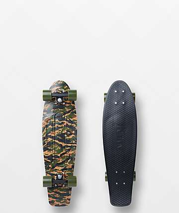 "Penny Tiger Camo 27"" Cruiser Complete Skateboard"