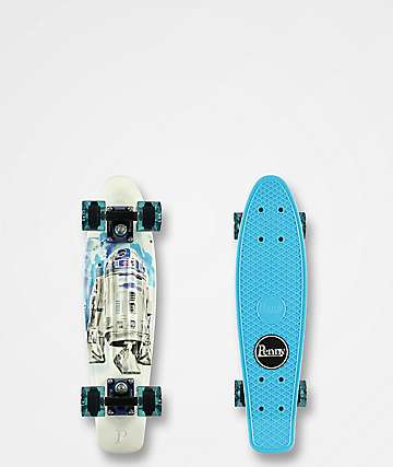 "Penny x Star Wars R2-D2 22"" Cruiser Complete Skateboard"