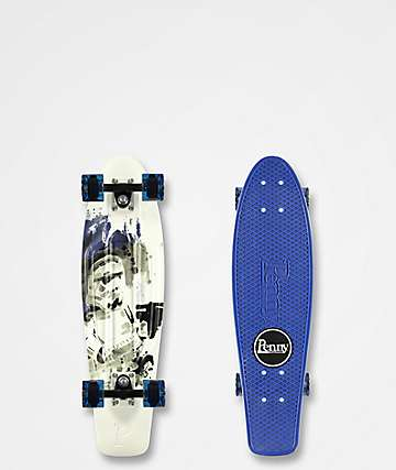 "Penny x Star Wars Stormtrooper 27"" cruiser completo"