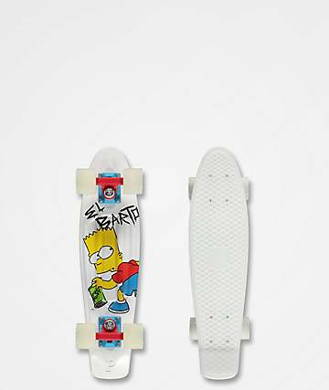"Penny x The Simpsons El Barto 22"" cruiser completo"