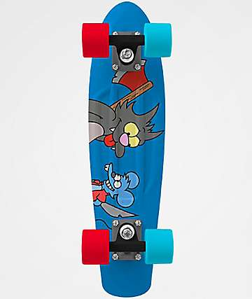 "Penny x The Simpsons Itchy & Scratchy 22"" Cruiser tabla de skate completa"