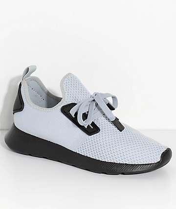People Footwear Waldo Knit Skyline Grey & Black Shoes