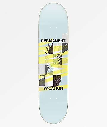 "Permanent Vacation Pineapple 8.0"" Skateboard Deck"