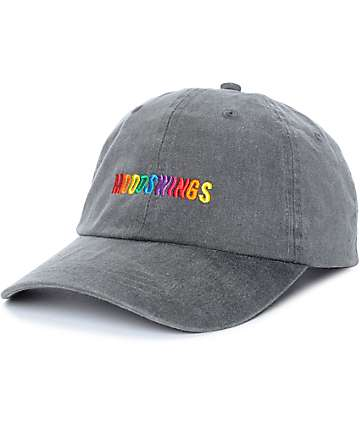 Petals & Peacocks Mood Swings Black Wash Baseball Hat