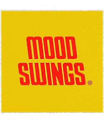 Petals & Peacocks Mood Swings Records pegatina