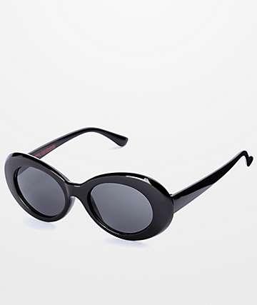 Petals & Peacocks Nevermind gafas de sol en negro