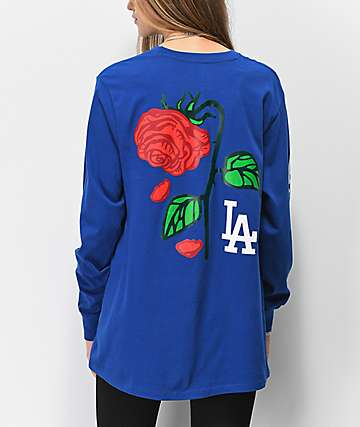 Petals & Peacocks x '47 LA Dodgers Long Sleeve T-Shirt