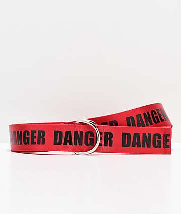 Petals and Peacocks Danger Web Belt