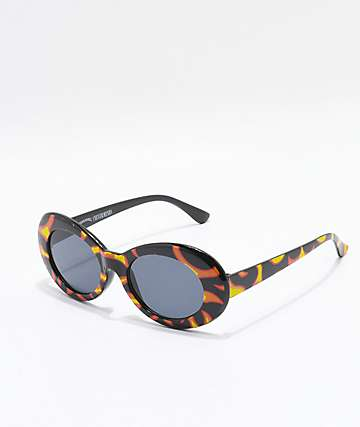Petals and Peacocks Nevermind Flame Sunglasses