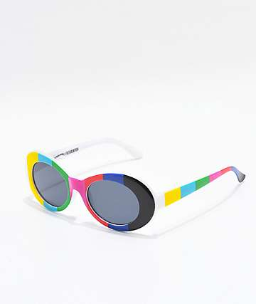 Petals and Peacocks Nevermind TV Sunglasses