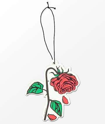 Petals and Peacocks Rose Air Freshener
