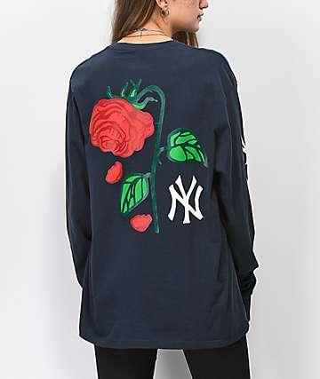 Petals and Peacocks x '47 NY Yankees Long Sleeve T-Shirt