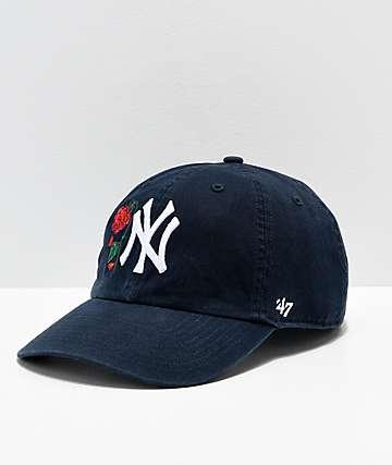 Petals and Peacocks x '47 NY Yankees Strapback Hat
