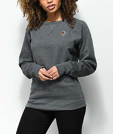 Petals by Petals & Peacocks x Champion Grey Crew Neck Sweatshirt