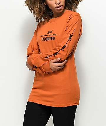 Petals by Petals and Peacocks Miss Understood Long Sleeve T-Shirt