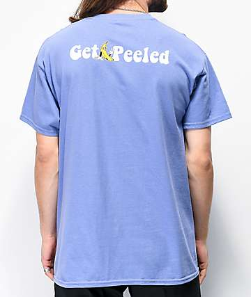 Petty Snacks Get Peeled Lavender T-Shirt