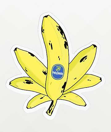 Petty Snacks Sweet Leaf Sticker