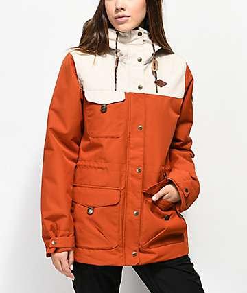 Picture Organic Kate Brick 10K chaqueta de snowboard