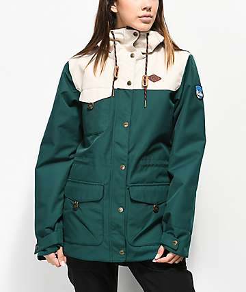 Picture Organic Kate Emerald 10K Snowboard Jacket