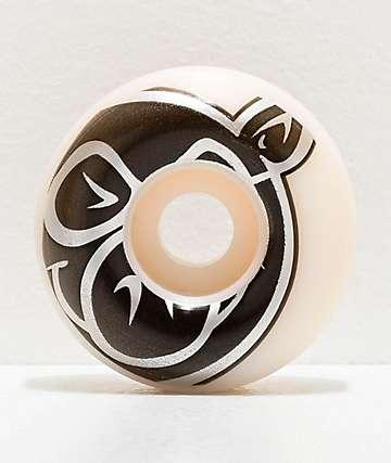 Pig Prime 55mm 103a White Skateboard Wheels
