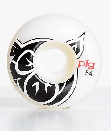Pig Wheels Pig Head ProLine Natural 54mm ruedas de skate
