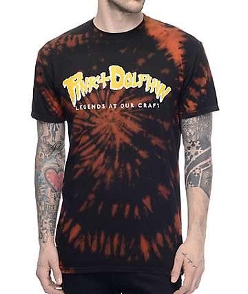 Pink Dolphin Misfit Script Black T-Shirt