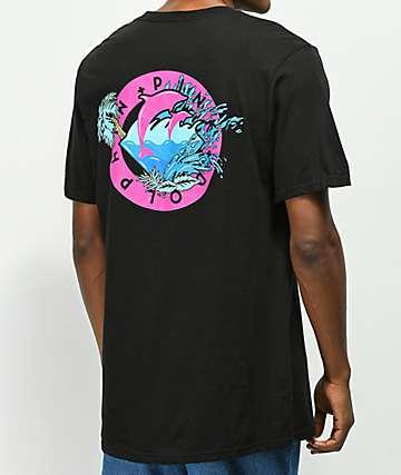 Pink Dolphin Oasis Seal camiseta negra